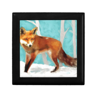 Red Fox Gift Box