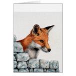 Red Fox Greetings Card
