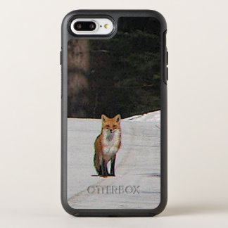 Red Fox in Snow Animal OtterBox Symmetry iPhone 8 Plus/7 Plus Case