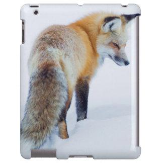 Red Fox in Winter iPad Case