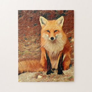 Red Fox Jigsaw Puzzle