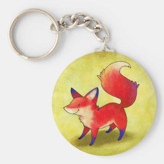 Red Fox Keychain