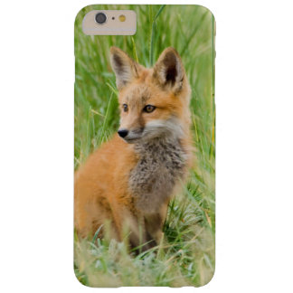Red Fox Kit in grass near den Barely There iPhone 6 Plus Case