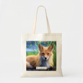 Red Fox Laying in the Grass Scenic Personalized