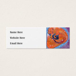 Red Fox. Mini Business Card