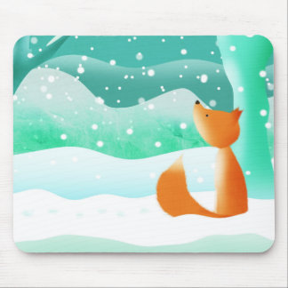 Red Fox - mouse mat