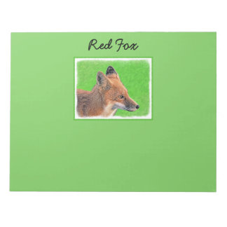 Red Fox Notepad