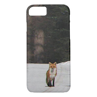 Red Fox on Hilltop iPhone 8/7 Case