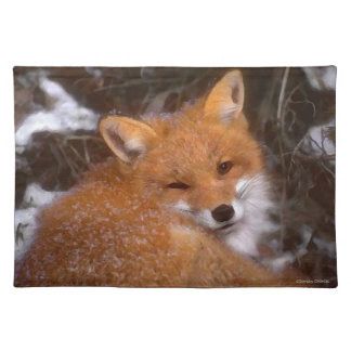 """""""Red Fox"""" Placemat"""