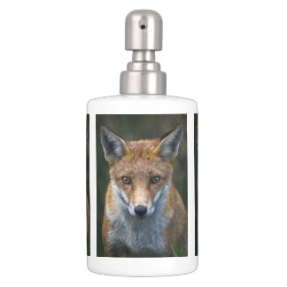 Red Fox Portrait Bath Set