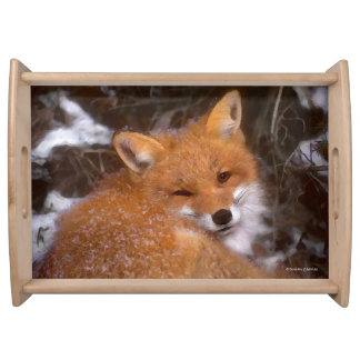 """""""Red Fox"""" Serving Tray"""