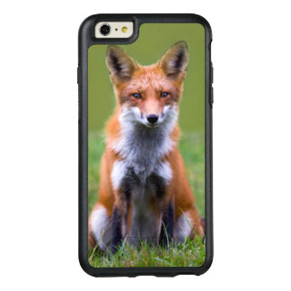 Red Fox Sitting OtterBox iPhone 6/6s Plus Case