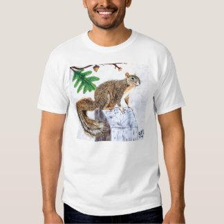 Red Fox Squirrel Shirts