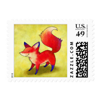 Red Fox Stamp
