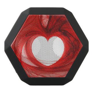 Red Fractal Heart Boombot Rex Bluetooth Speaker
