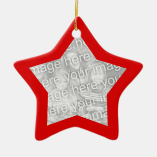 Red Frame Star Ornament