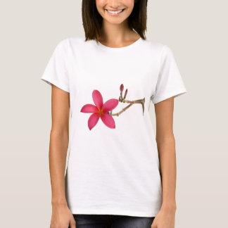 Red Frangipani flower T-Shirt