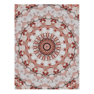 Red French country motif-a238 Postcard