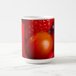 Red Fruit and Vegetables Mug