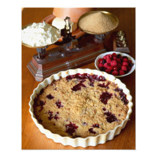 Red fruit crumble For use in USA only.) Photo