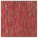Red Fur Fabric