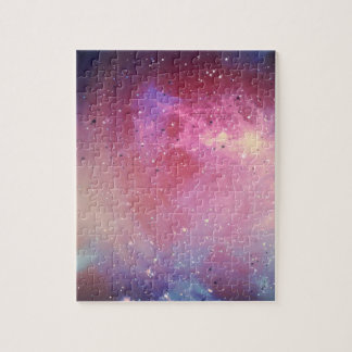Red Galaxy Jigsaw Puzzle