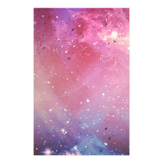 Red Galaxy Personalized Stationery