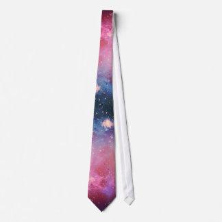 Red Galaxy Tie