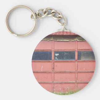 Red Garage Door Key Chains