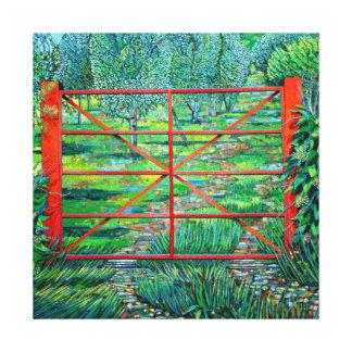 Red Gate Summer 2010 Canvas Print