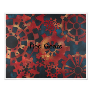 Red Gears Photograph