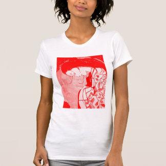 Red Geisha Camisole Shirts