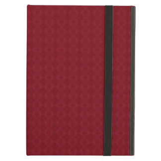 Red Geometric Pattern iPad Air Case