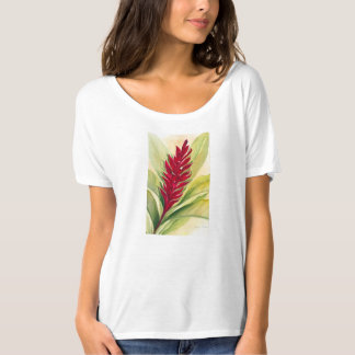 Red Ginger by Malorie Arisumi, Maui, Hawaii T-Shirt
