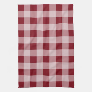 Red Gingham Holiday Christmas Kitchen Towel
