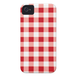 Red Gingham iPhone 4 Cases
