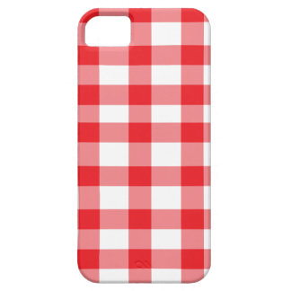 Red Gingham iPhone 5 Covers