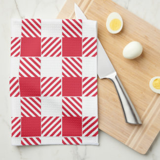 Red Gingham Kitchen towel