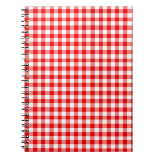Red Gingham Notebooks