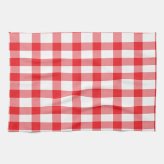 Red Gingham Tea Towel