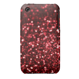 Red Glimmer Case-Mate iPhone 3 Cases