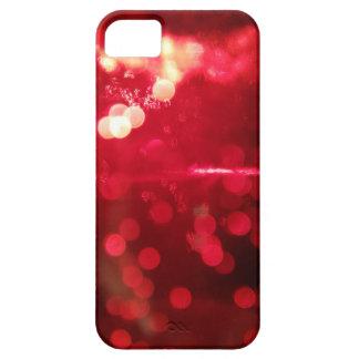 Red Glitter Glamor iPhone 5 case