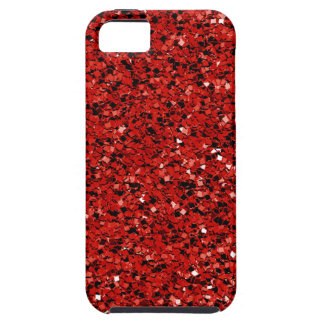 Red Glitter iPhone 5 Covers