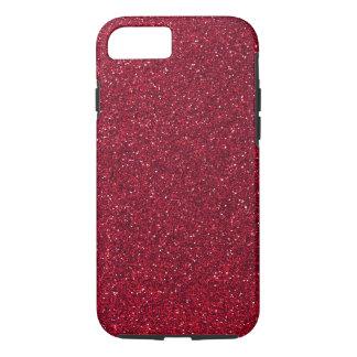 Red Glitter iPhone 7 Case