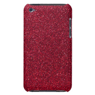 Red Glitter iPod Touch Cases