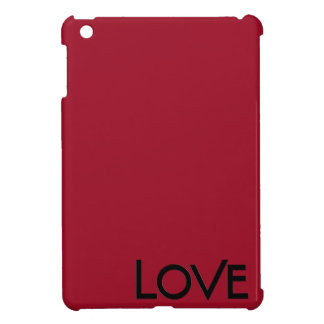 Red Gloss Love Case Savvy Glossy iPad Mini Case