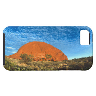 Red Glow of the Famous Ayers Rock in the Outback Case For The iPhone 5