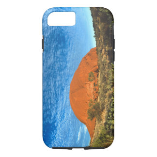 Red Glow of the Famous Ayers Rock in the Outback iPhone 8/7 Case