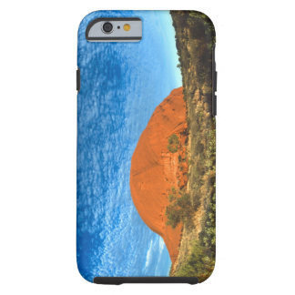 Red Glow of the Famous Ayers Rock in the Outback Tough iPhone 6 Case