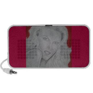 red goddess mini speaker
